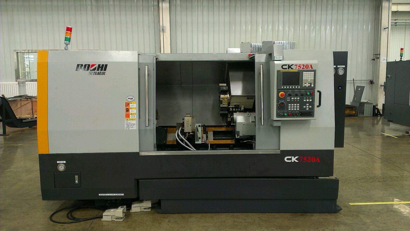 Ck7520 Sereis Slant-Bed CNC Lathe