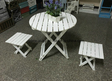 Folding Garden Table and Chair (M-X3061)