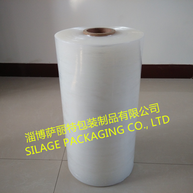3-Layer One Side Sticky Blown Clear Stretch Wrap Film
