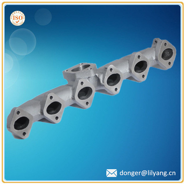 Casting Ni-Resist Iron Exhaust Manifold, Exhaust Manifold Auto Part