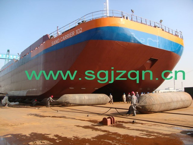 High Quality Marine Rubber Airbag for Heavy Ship Launching & Docking