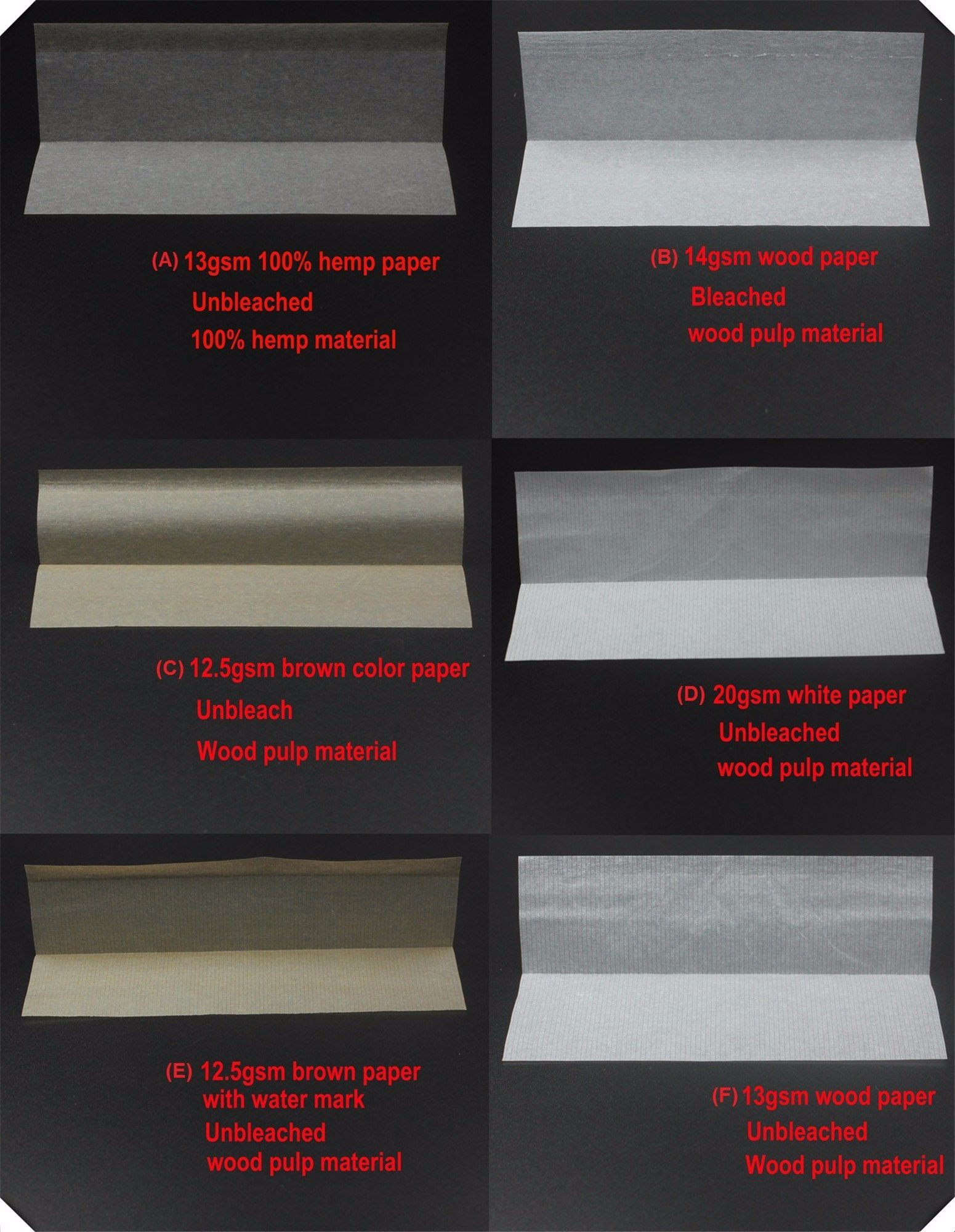 1 1/4 Size Rolling Paper