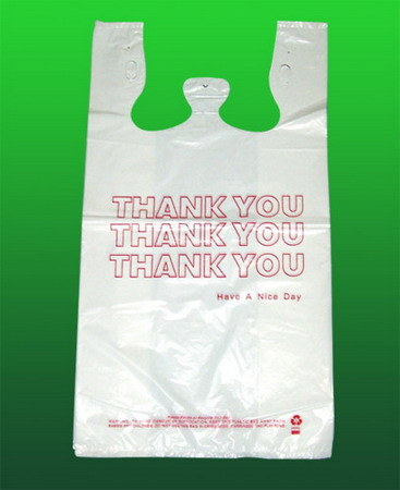 HDPE Printed Plastic Shopping Bag
