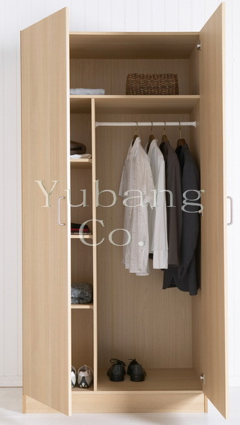 Melamine Wardrobe (bedroom wardrobe) (BF24)