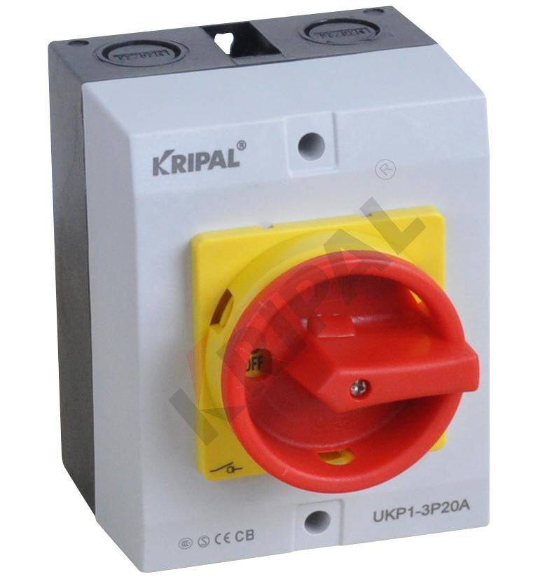 IP65 PC Enclosed Rotary Switch