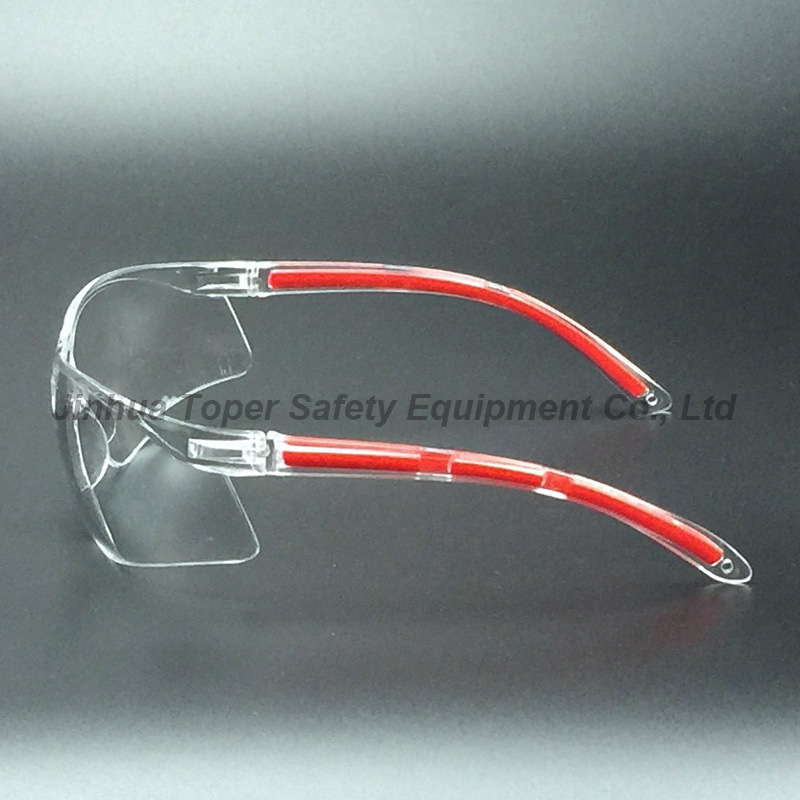 ANSI Z87.1 Wide Protection PC Lens Safety Glasses (SG123)