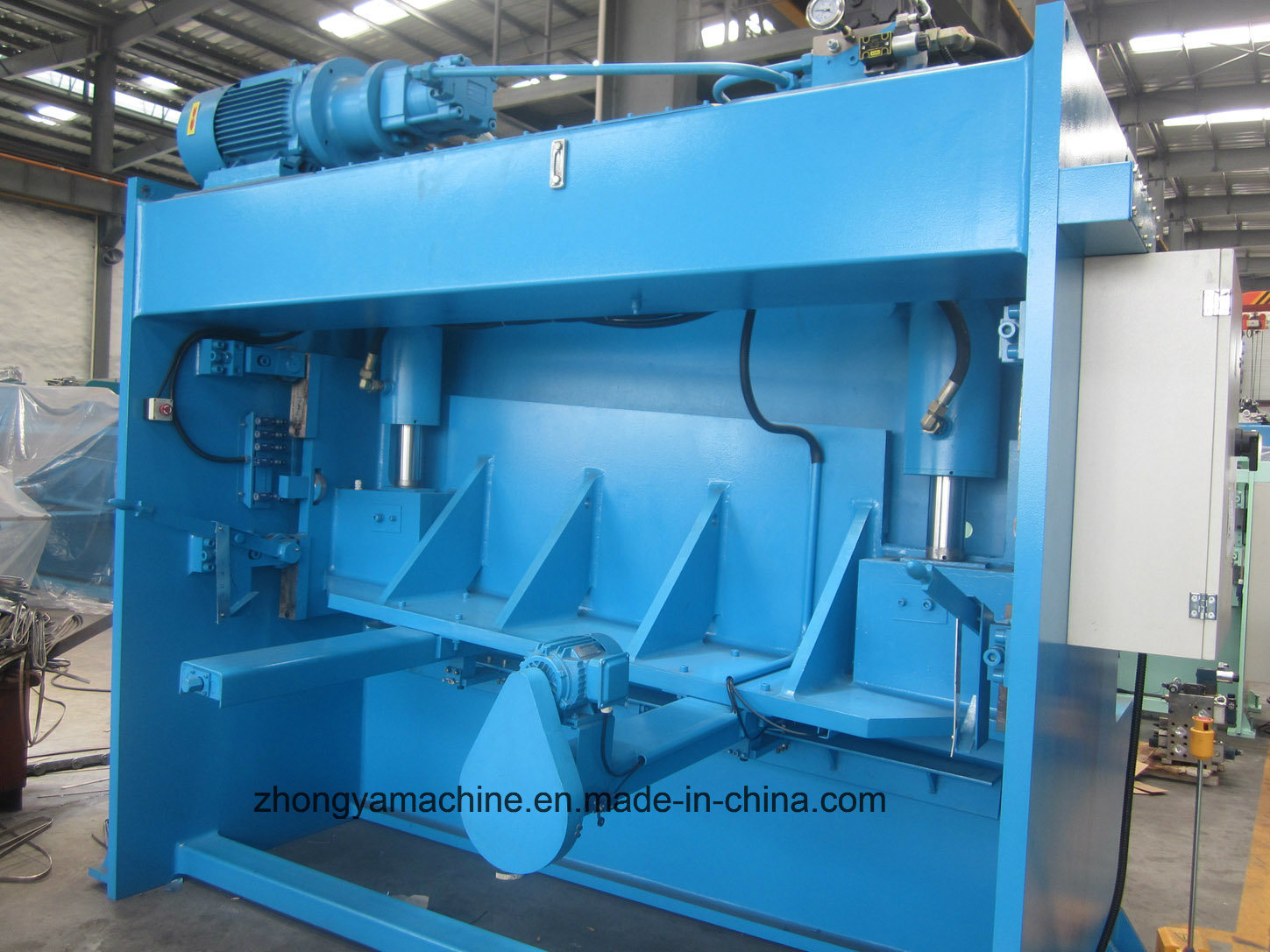 China High Quality Hydraulic Shearing Machine QC11y-8/4000