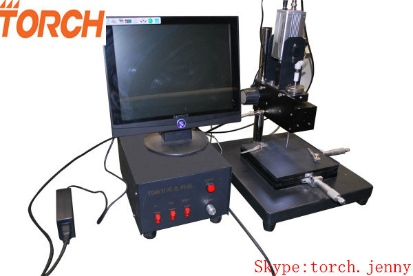 SMT Small PCB Production Line with Manual Visual Pick and Place Machine Tp38V (TORCH)