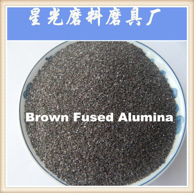 Sandblasting Abrasive Brown Fused Alumina (BFA)