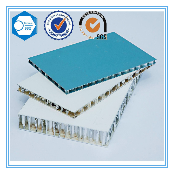 Construction Materials Aluminum Honeycomb Sandwich Panel