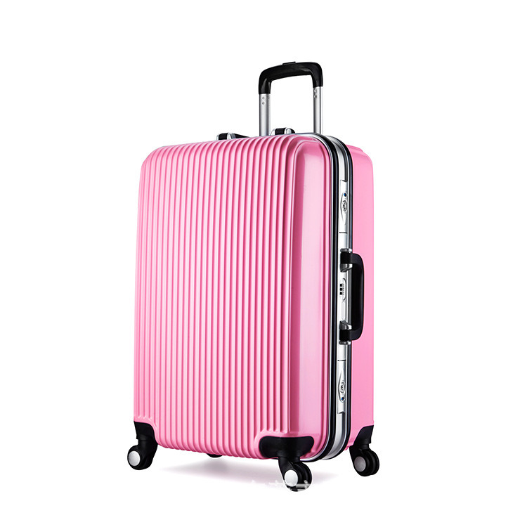 New Unique fashion 100% Polycarbonate PC Trolley Luggage