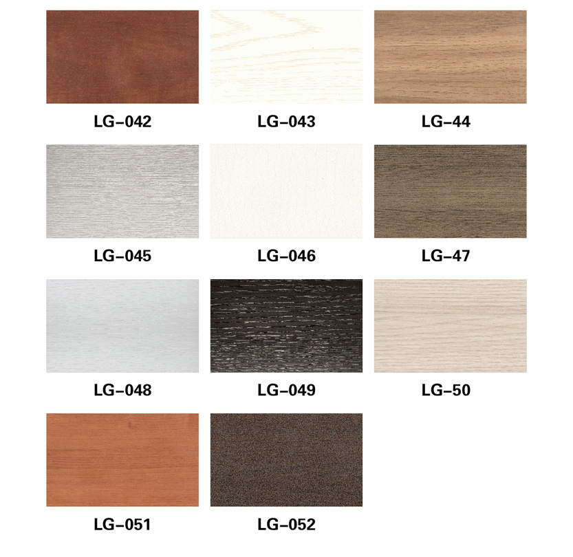 WPC Material PVC Covered Decorative Material Profile (BK-6013)