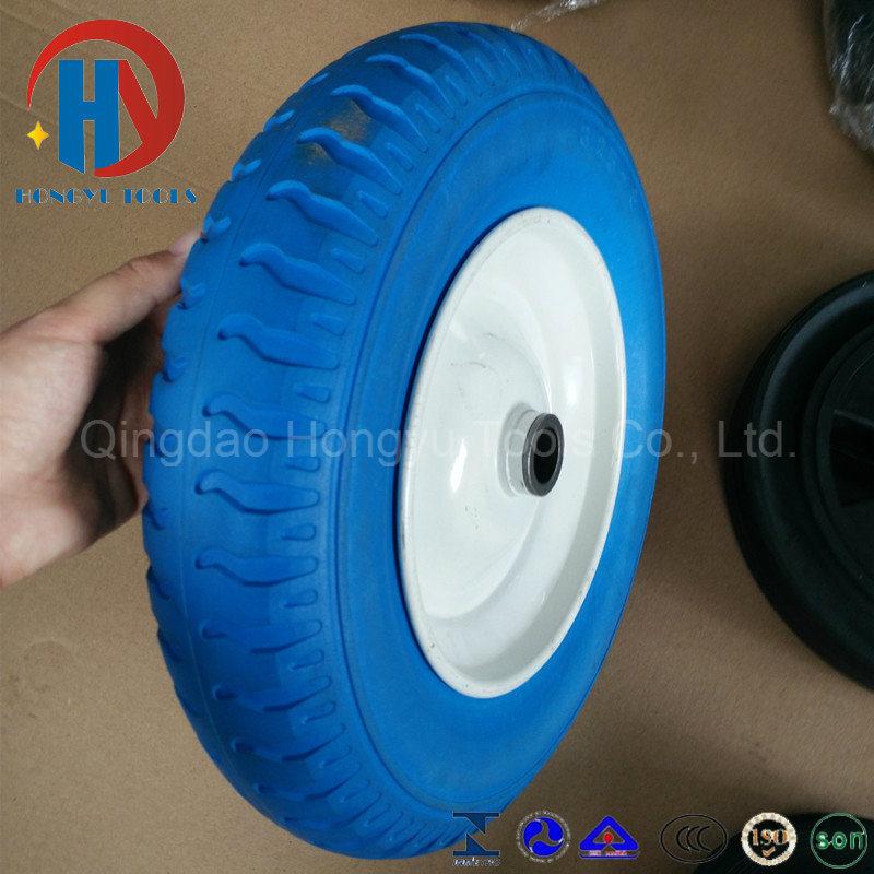 Wheel Barrow Hand Trolley PU Wheel