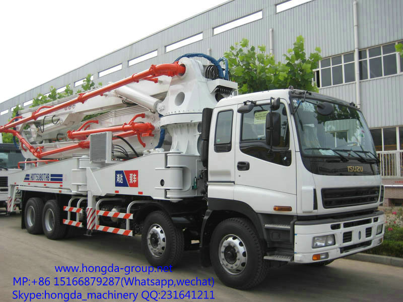 37m Concrete Pump with Boom