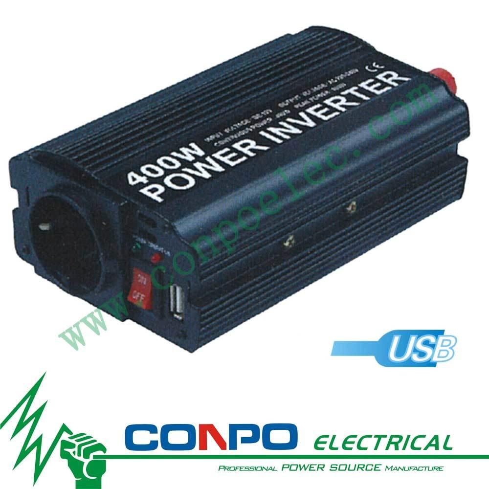 Modified Sine Wave Power Inverter 8400U 400W With USB