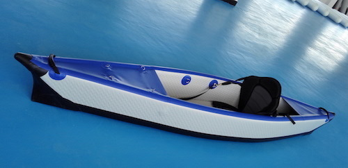 Inflatable Drop Stitch Kayak, Sit on Top Ocean Kayak
