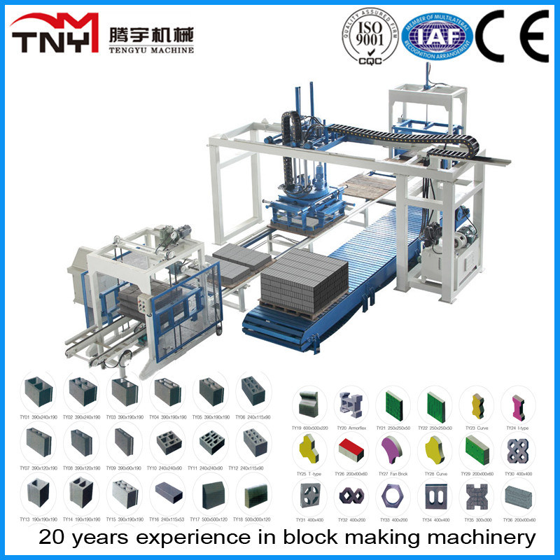 Automatic Brick Making Machinery Production Line (offline stacking system)