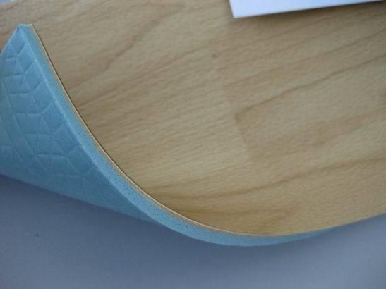 Wooden pattern PVC sports flooring