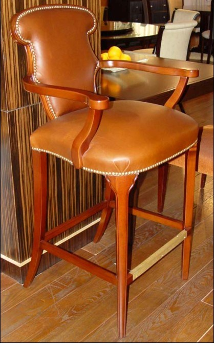 Hotel Furniture/Restaurant Furniture Sets/Bar Chair/Hotel Bar Area Furniture/Bar Table and Bar Stool (GLB-009)