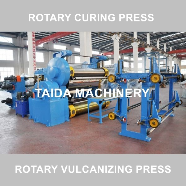 Drum Type Rubber Sheet Belt Rotary Vulcanizing Press Curing Press Vulcanizer Machine