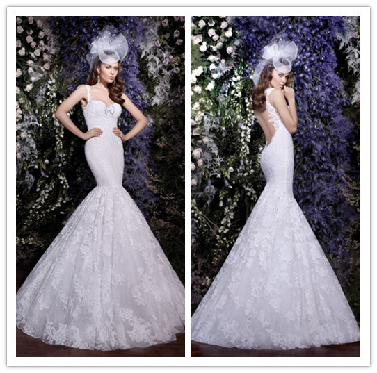 China hot sale new designs sweetheart neckline white full for Low back wedding dresses for sale