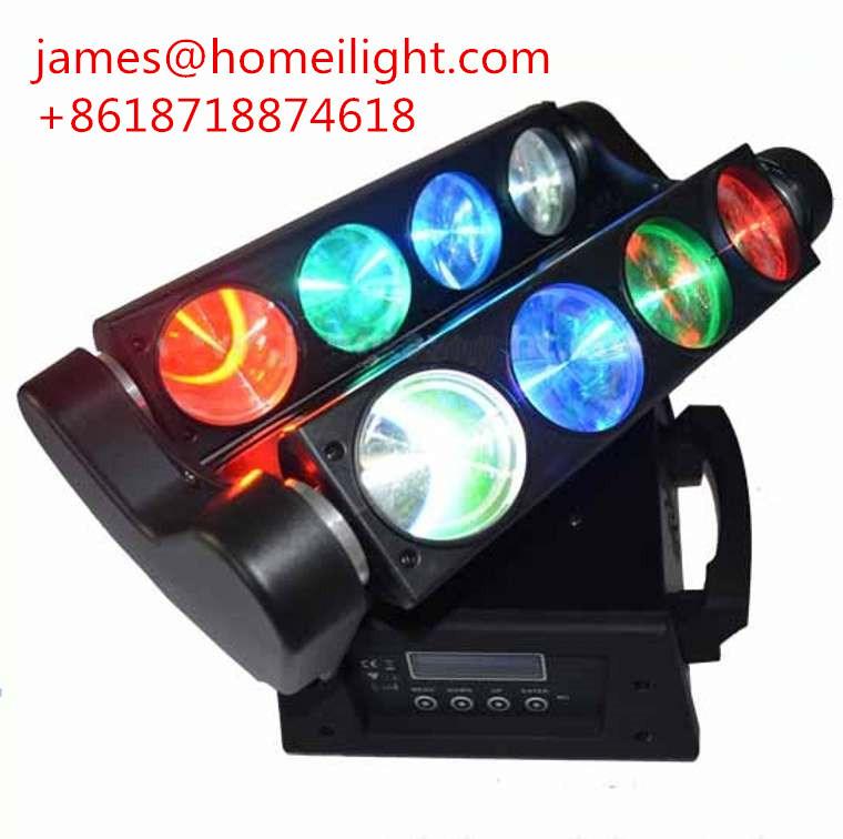 RGBW LED Spider Beam Lighting for 8*10W Moving Head Light /DMX Moving Beam Spider