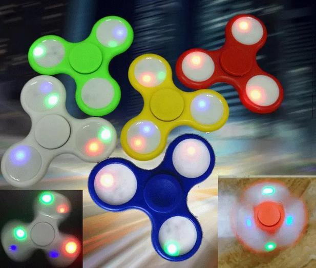 2017 Hot Selling LED Fidget Spinner LED Hand Spinner