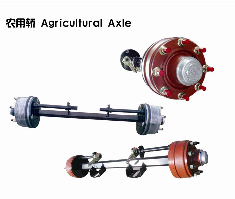 Small Agricultural Axle for Trailer