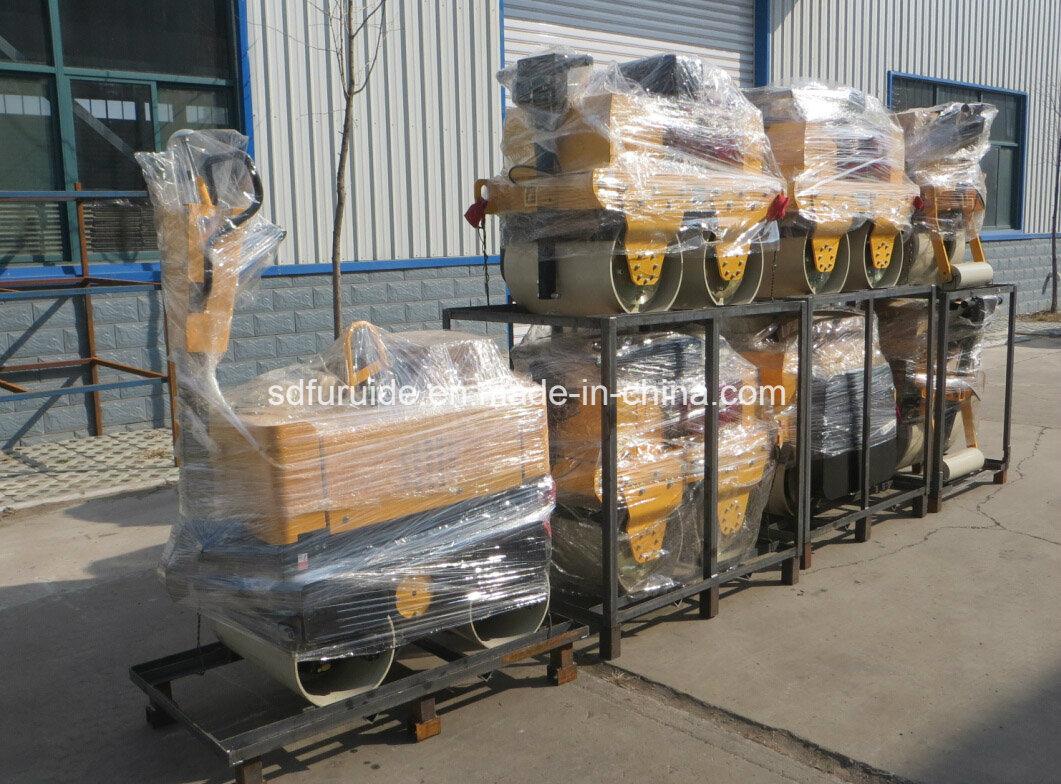 Hydraulic Walk Behind Double Drum Vibratory Road Roller (FYL-800)