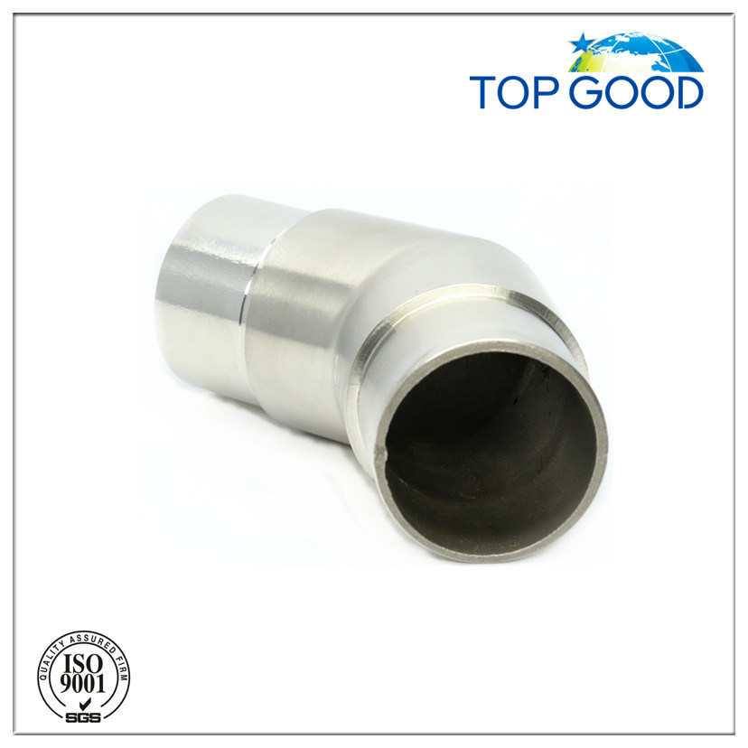 Stainless Steel 135 Degree Corner Elbow Tube Connector (52024)