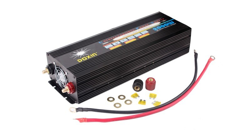 High Frequency 2000W 12V 220V Power Inverter with UPS&Charger