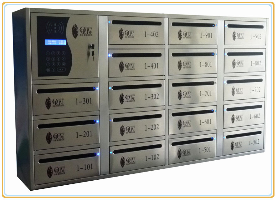 Safe Stainless Steel Electronic Mailbox