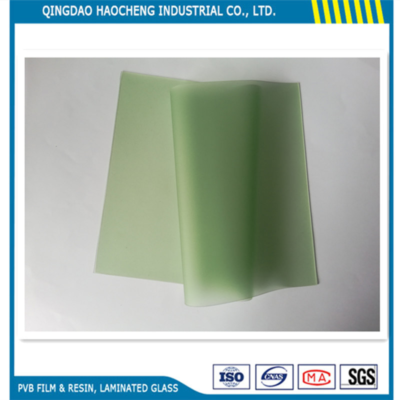 French-Green 0.76mm PVB Film for Automotive Windshield Glass