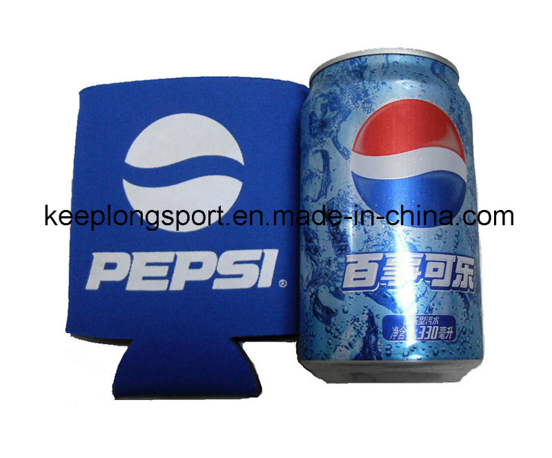2016 Customized Fashionable Neoprene Can Cooler with Sublimation Pritning