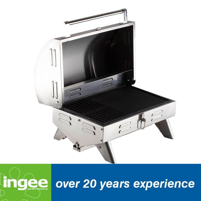 15000 Btus Gas Grill Portable Tabletop BBQ
