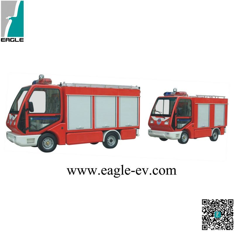 Fire Truck, CE, Electric, Mini Fire Engine, Water Tunk, Pure Electric, 72V 5kw, 1209 Controller