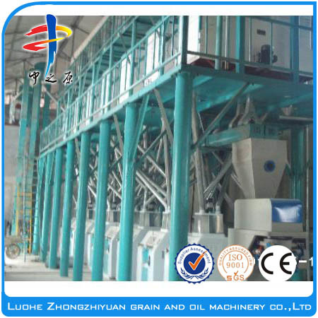 High Quality 1-100 Tons/Day Wheat Flour Mill/Corn Flour Mill