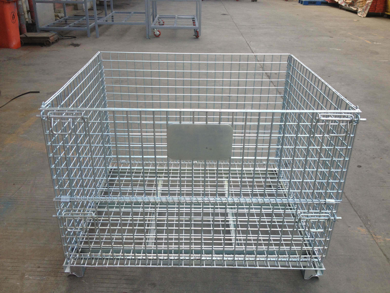 China wire mesh pallet cage photos pictures made in