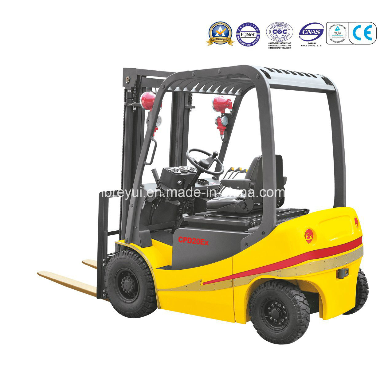 Explosion-Proof Electric Forklift Truck