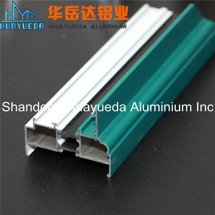 Customized Color Powder Coated Aluminium Extrusion Profiles