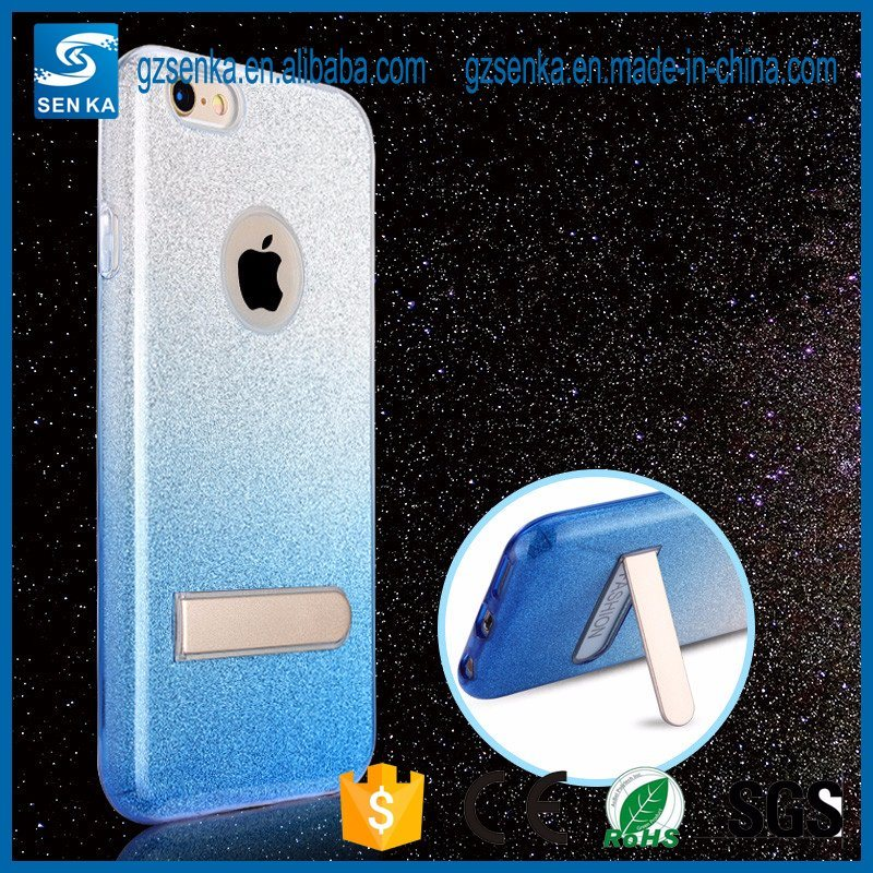 Case with Stand for iPhone Glitter Case for iPhone 7