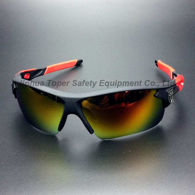 Fashion Sunglass with Colorful Mercury Lesn UV Protection (SG128)