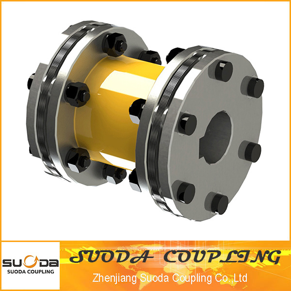 No Need Lubricating Both Hub Reverse Installation with Joint Pipe Disc Couping