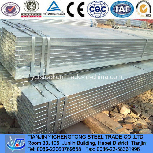 Galvanized Square Tube and Pipe Z80 Made in China
