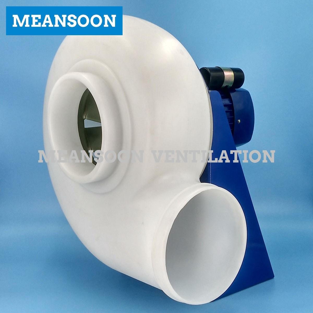 Fume Hood Plastic PP Anti Corrosive Radial Fan