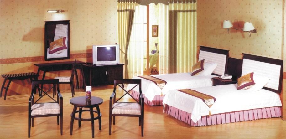 Luxury star hotel president bedroom furniture sets standard king size - China Hotel King Size And Morden Bedroom Furniture Gl 009