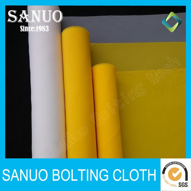 60 Micron Dpp100/250-40pw Monofilament Polyester Screen Printing Mesh