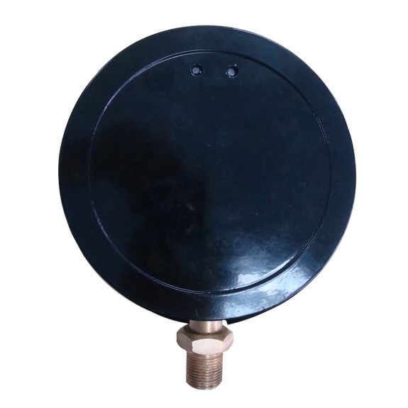 6inch-150mm Black Steel Case Brass Internal 1.6MPa Precision Pressure Gauge