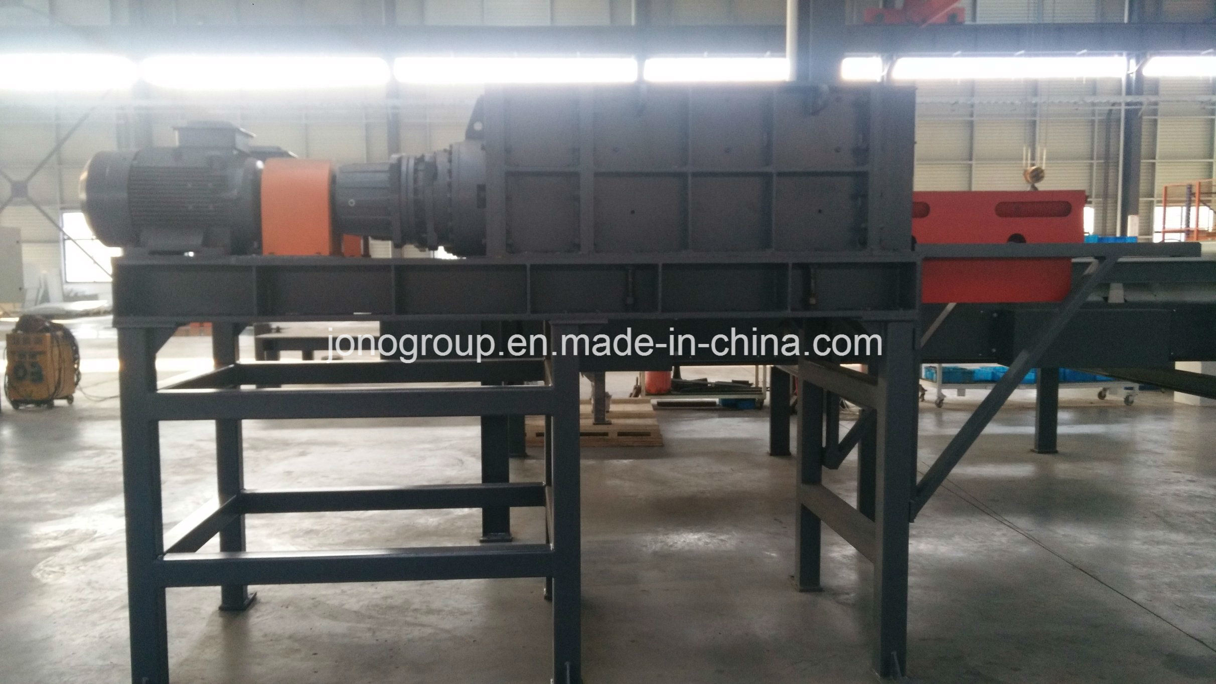 1PSS3410B Quadruple-Shaft (Shear) Shredder for Metal Recycling Industry