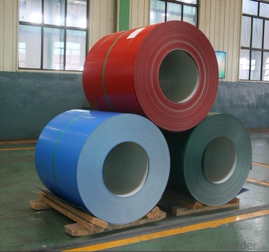 Prepainted Steel Coil/Color Coated Steel Coil/ PPGI Coil From China Supplier